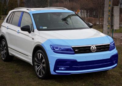VW Tiguan R-line-  zabezpieczenie ceramiczne + pakiet foli ochronnych