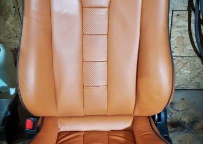 Renowacja skóry – fotele Honda Del Sol