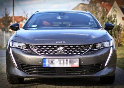 Peugeot 508 – Ochrona ceramiczna + folia ochronna
