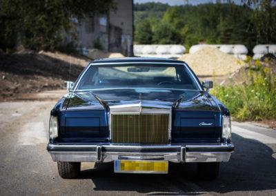 Lincoln Continental Mark V – pełna korekta lakieru + renowacja wnętrza ikokpitu
