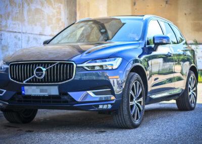 Volvo XC60 – Mycie detailingowe + czyszczenie wnętrza