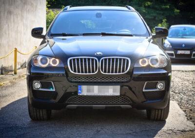 BMW X6 – Serwis powłoki ceramicznej