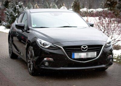 Mazda 3 – Korekta lakieru + zabezpieczenie