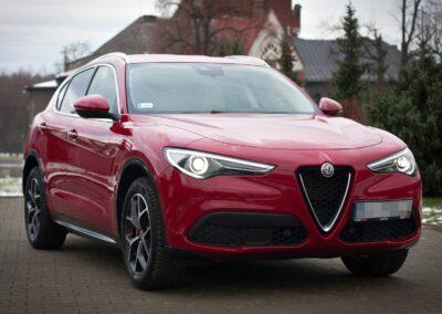 Alfa Romeo Q4 Stelvio – Woskowanie